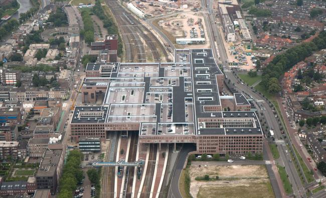 Luchtfoto station Breda